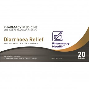 CT0020HDS PH Diarrhoea Relief 20Tab Carton